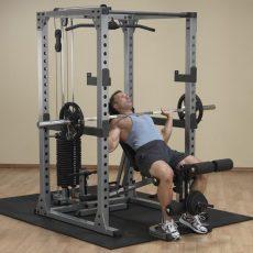 Body-Solid Erőkeret + Hátgép + Univerzális pad + Lapsúly (GPR378+GLA378+GFID71+SP200)