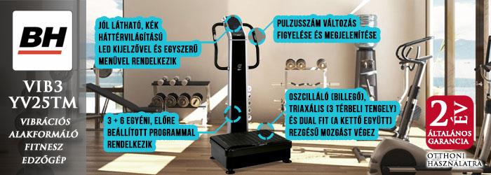BH fitness vibrációsgépek