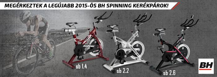 BH Fitness új 2015 Spin Bike modellek!
