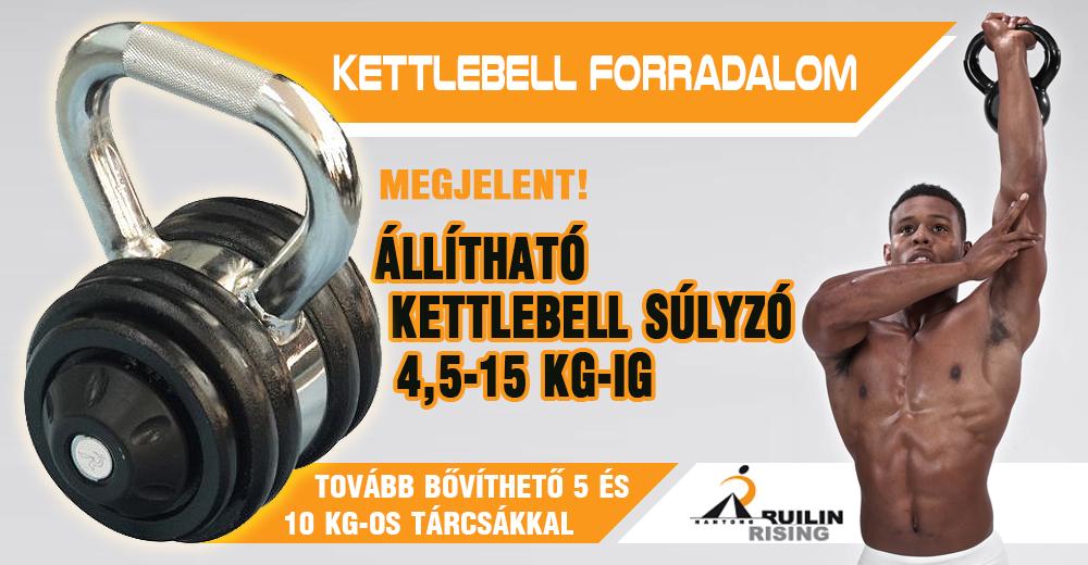 Megérkezett a Ruilin Rising állítható Kettlebell!