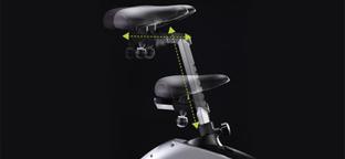 BH Fitness Carbon Bike szobakerékpár ülés állítás
