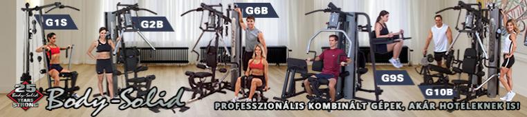 Body Solid G-széria: professzionális kombinált gépek, akár hoteleknek is!